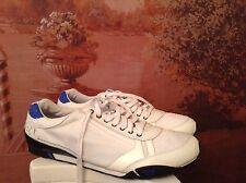 diesel take mens sneakers sport oxfords white size 13