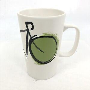 STARBUCKS 16 Oz Tall Bicycle Coffee Tea Mug White