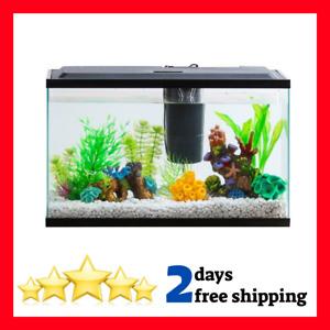 Aqua Culture Aquarium Starter Kit With LED Lighting 10-Gallon