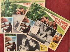 AROUND THE WORLD UNDER THE SEA David McCallum (3) DIVING MEXICAN LOBBY CARDS 66