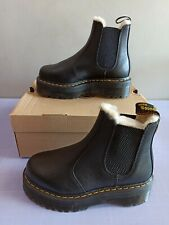 Dr. Martens Black 2976 Quad FL Boots schwarz leder EU 39/UK6