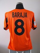 RUBEN BARAJA #8 VALENCIA AWAY FOOTBALL SHIRT JERSEY 2001/02 (M)