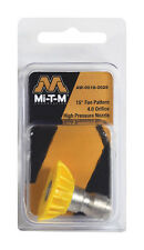 MI-T-M  QUICK CONNECT PRESSURE WASHER NOZZLE AW-0018-0029  4.0 orifice 15 degres
