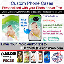 Custom Phone Case Cover Personalized Photo image  fits Samsung J7 Sky Pro