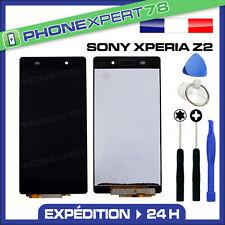 ÉCRAN LCD + VITRE TACTILE BLOC ASSEMBLÉ SONY XPERIA Z2 NOIR + OUTILS