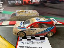 "SCALEXTRIC  6091  FORD FOCUS "" EFECTO BARRO MC RAE"" Nº7 EXCLUSIVO ENVIO GRATIS!"