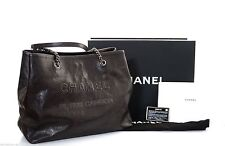 CHANEL Clasp Totes with Outer Pockets