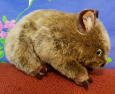 "**Beautifully detailed ""Russell"" the large plush WOMBAT** by Minkplush"