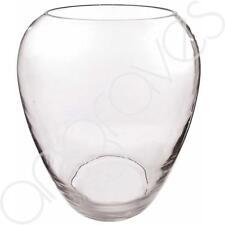 MANDORLA vaso di cristallo (30 cm) fiori CANDELA Display accordo decorativi