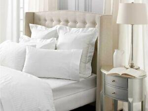 Sheridan 1200 Thread Count Millennia Snow White Housewife Pillowcase Pairs