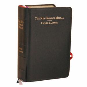 Father Lasance The New Roman Missal Catholic Latin Mass 1945 Reprint Brand New