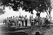 New 5x7 Civil War Photo: Confederate Artillery, Palmetto Battery at Charleston