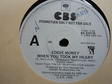 """Eddie Money """"When You Took My Heart"""" LARGE A PROMO Oz7"""""""