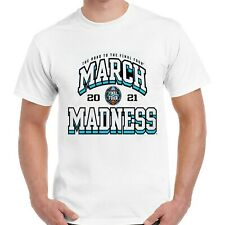 2021 NCAA Men's Basketball Tournament March Madness 68-Team Group T-Shirt White