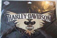 "Harley Davidson X-Large ""H-D Journey Wings Bar & Shield "" Emblem Patch RETIRED!!"