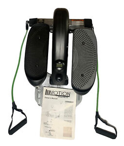 Stamina Inmotion Compact Elliptical Stepper With Upper Body Cords 55-1611 Desk