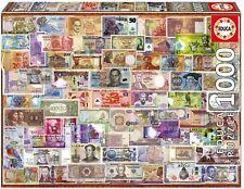 Educa puzle rompecabezas mundo billetes 1000pcs dinero #17659