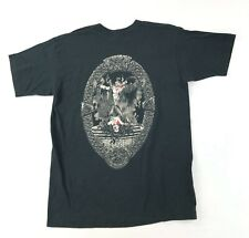 Vintage 90s Halloween Myrtle Beach Souvenir T Shirt Large Gothic Vampire Graphic