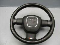 AUDI A4 AVANT (8ED, B7) 2.0 TDI 16V Lenkrad 4F0419091R S-Line Leder