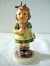 "Goebel Hummel Figurine ""The Surprise"" #431 • Tmk6 • 5 1/2"" Tall • Mint!"