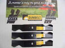 """3 USA XHT HD BLADES CUB CADET 54"""" SLT 1554 SLTX 1054 GTX 1054 RZT554 SLTX 1054"""