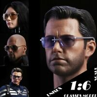 "1/6 Scale Unisex Sunglasses Scene Accessories Model For 12"" Action Figure Toys"