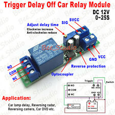 DC 12V Delay Timer Delay Turn Off Adjustable Timer Control Switch Relay Module