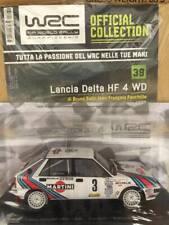 Modellino Auto Macchina Rally WRC n 39 Lancia Delta HF 4 WD 1988 Scala 1:24