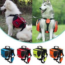 Pet Small Dog Saddle Bags Pack Hound Travel Camping Hiking Backpack Saddle Bag