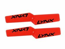 Lynx Blade MCP X BL Neon Orange 42mm Tail Rotor Blade - 2 Pack LXPBL421