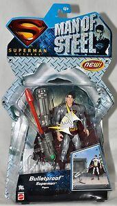Superman Returns Man of Steel Bulletproof Superman figure L0963 Mattel 2007