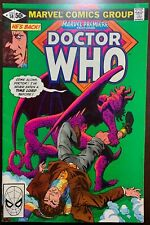 MARVEL PREMIER #58  Featuring Doctor Who  1981  FN