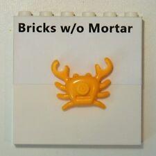New Genuine LEGO Bright Light Orange Crab Animal