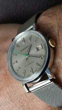INGERSOLL watch VINTAGE, '75-80 orologio swiss.Classico/sportivo.Inox.Ottimo.