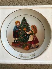 1982 Avon Christmas Plate