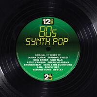 """Various Artists : 12 Inch Dance: 80s Synthpop Vinyl 12"""" Album 2 discs (2016)"""