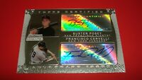 2009 Bowman Sterling Dual Autographs Buster Posey Francisco Cervelli Auto Rookie