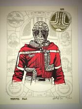 Tyler Stout A Portrait Of The Navigator As Young Starfighter Poster Art Prints