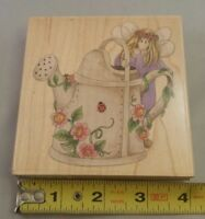 Stamps Happen Wood Mounted Stamp Periwinkle