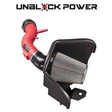 2011-2014 FORD MUSTANG V6 ST BASE 3.7L 3.7 AF DYNAMIC COLD AIR INTAKE RED KIT