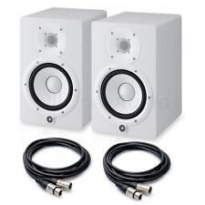 COPPIA Yamaha HS7W Studio Monitor + CAVI XLR Garanzia e Assistenza Italia