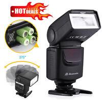 Universal Camera Flash Light Speedlite For Canon EOS Nikon Sony Pentax