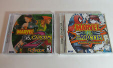 Marvel vs. Capcom 1 & 2 (Sega Dreamcast, 2000) Complete CIB Games *PLEASE READ*