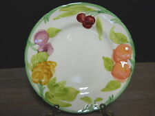 Salad Plate Fresh Fruit Multi Color Off White Franciscan Ware California