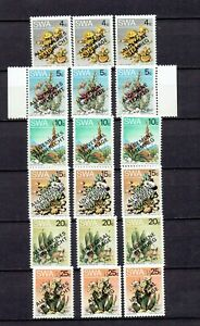 1979 SWA Universal Suffrage OVPs in 3 languages On Desert Plants  Full Set  MNH