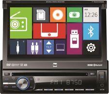"Dual XDVD600 Single Din Car DVD Player 7"" Monitor Bluetooth iPhone Control USB"