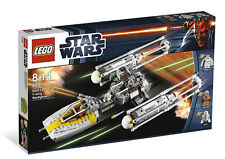 Sealed Lego Star wars Gold Leader's Y-wing Starfighter set 9495 Creases