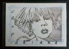 "Farscape Very Rare ""Chiana"" SKETCHAFEX Sketch Card by CZOP"