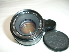 YASHICA YASHINON - DS 50 mm F/ 1.7 lens, PENTAX / M42 screw mount