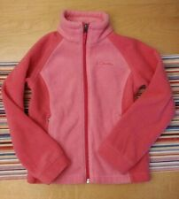Columbia Girls Fleece Jacket - Size Small - Size 7 / 8 - Pink